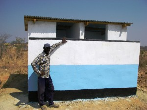 New Latrine at Community School