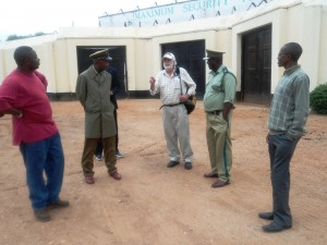 meeting with the Prison Officials