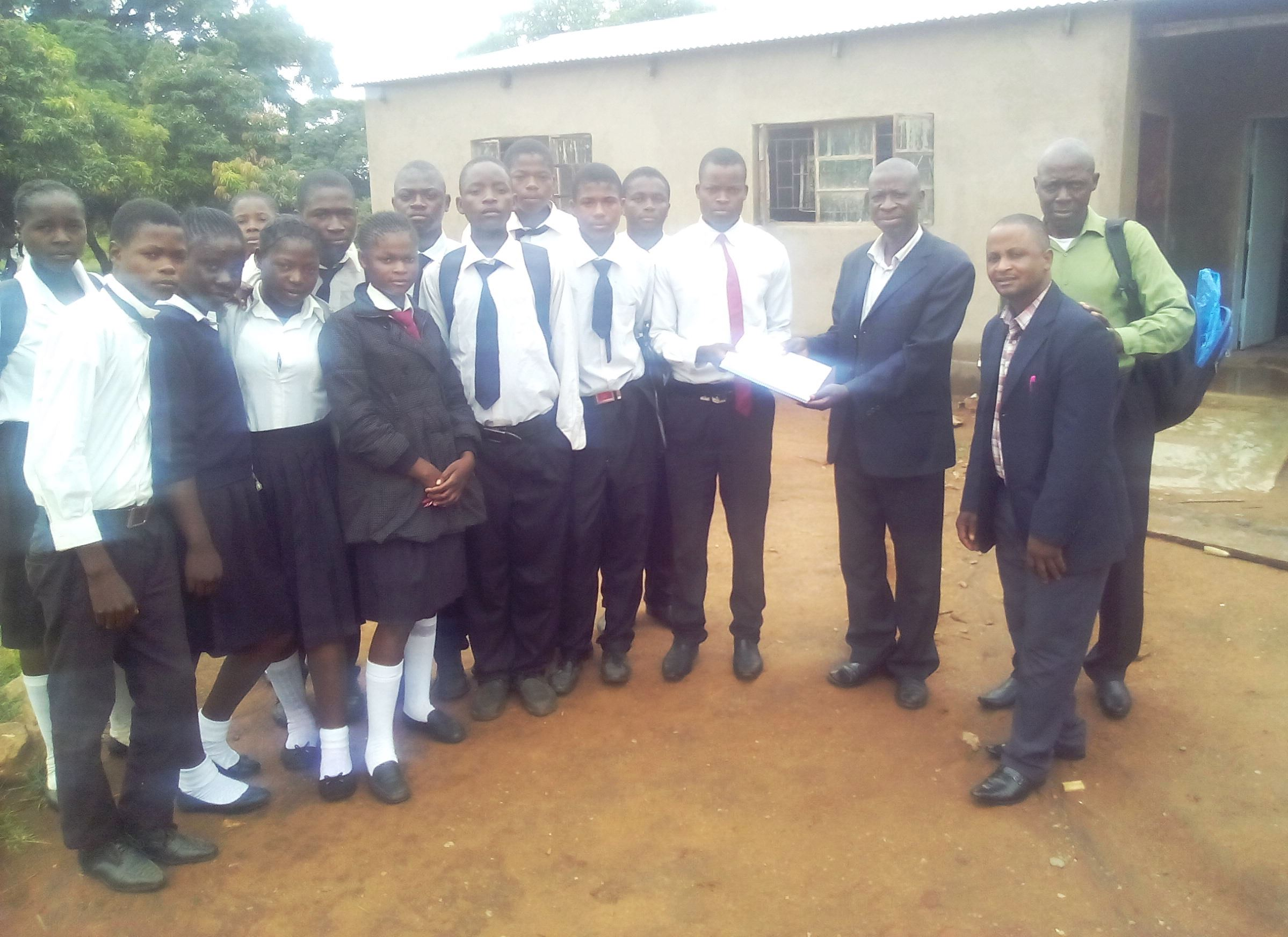20190310 Kasonde School students